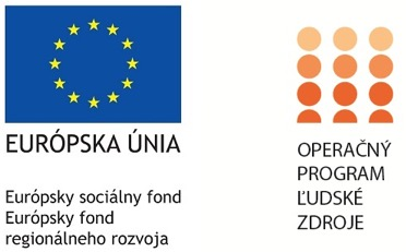 Európsky sociálny fond - Operačný program ľudské zdroje